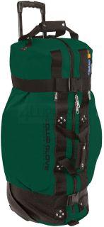 Club Glove Rolling Duffle 2 Green XL Travel Bag Golf Luggage Clubglove