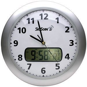 Equity 27010 Skyscan Radio Controlled 12 Wall Clock
