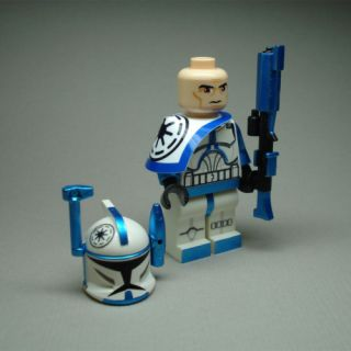 Custom Lego Star Wars Clone Rex Arc Trooper Commander