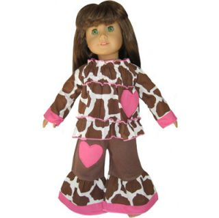 Giraffe Heart Clothes Fit American Girl Doll Clothing