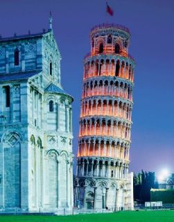 Leaning Tower of Pisa 1000 Piece High Quality Italian Puzzle