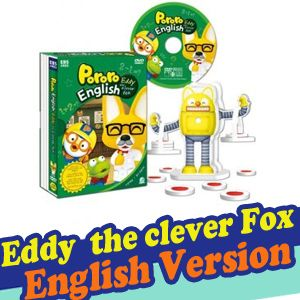 Pororo DVD Eddy The Clever Fox English Version DVD Special Gift