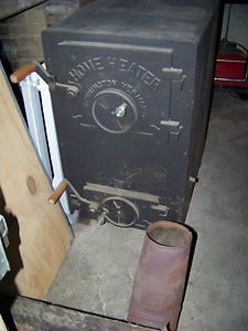 Home Heater 1980 H1 Wood and Coal Burning Stove Excellent Condition 1