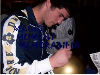 Notre Dame Fighting Irish 2012 Signed Autographed Jersey w COA Manti