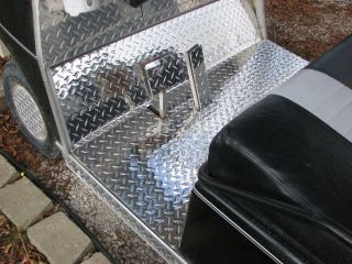Club Car Golf Cart Diamond Plate Floor