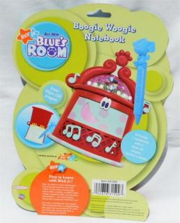 Blues Clues Blues Room New Boogie Woogie Notebook