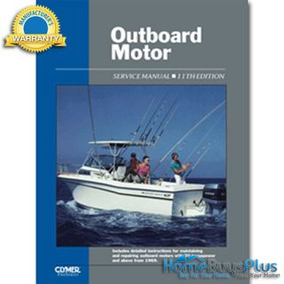 clymer outboard motor service manual vol 2 1969 1989