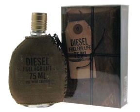 Diesel Fuel for Life for Men 2 6 oz 75 ml EDT Spray