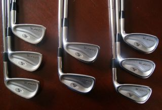 Cobra Irons King Cobra Forged CB 3 PW 8 PC DG S300 Stiff Flex Steel RH