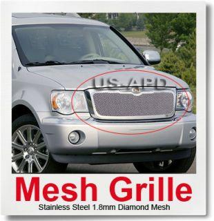 07 10 Chrysler Aspen Stainless Steel Mesh Grille Insert