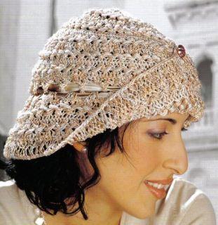 Chain Mesh Beret - Media - Crochet Me