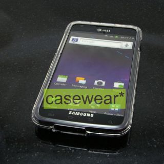 Skyrocket Samsung Galaxy S2 i727 CLEAR Faceplate Hard Case Cover AT&T