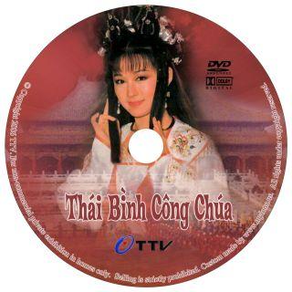 Thai Binh Cong Chua Phim HK w Color Labels