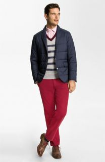 Brooks Brothers Jacket, Sweater, Oxford Shirt, & Slim Fit Chinos