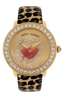Betsey Johnson Loose Crystal Dial Watch