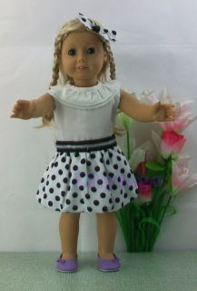 Doll Clothes Outfit For 18 American Girl Dolls Set New LASD17