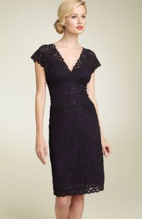 Nicole Miller Stretch Lace Sheath Dress