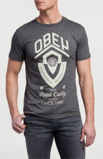 Obey Guitar Shield T Shirt