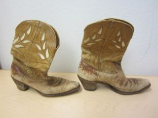 Eddie Cochran Worn Western Boots Original Boots Found in Collection