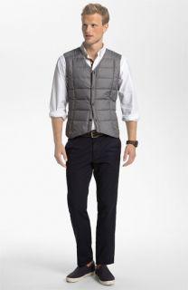Nau Down Vest & AG Jeans Chinos