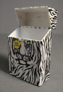 Skin Print and Logo Design Hard Plastic Cigarette Case New