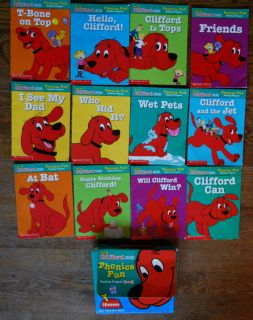 Clifford the Big Red Dog Phonics Fun Reading Program Pack 1 12 books