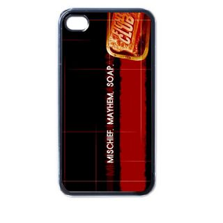 Fight Club Soap V1 Plastic Case for iPhone 4 4S Black New Gift Idea