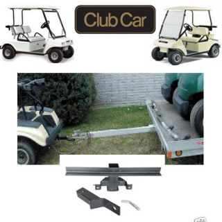 Club Car DS Golf Cart Trailer Hitch with 2 Receiver