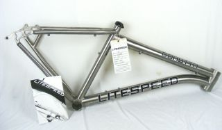 2012 Litespeed Cohutta TI Titanium 29er Mountain Bike Frame Medium New