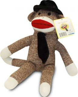 Mr Coconuts from The Sock Monkey Family Toy Game Plush Stuffed Animal