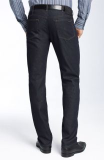 Versace Collection Straight Leg Jeans (Dark Blue Wash)