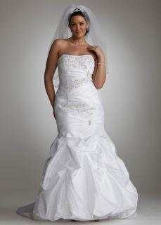 BEAUTIFUL DAVIDS BRIDAL WEDDING GOWN SIZE 16 VEIL