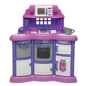 Lights Sounds Girls Pretend Play kids Kitchen Acces PINK BNIB