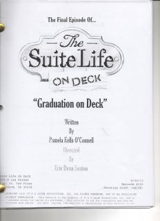 Suite Life on Deck Dylan Cole Sprouse Season 3 U Pick Episode