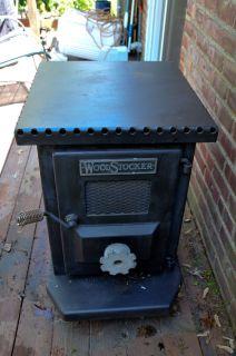 Wood Coal Burning Stove Radiant Heat