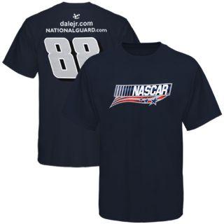 Chase Authentics Dale Earnhardt Jr NASCAR Unites T Shirt Navy Blue