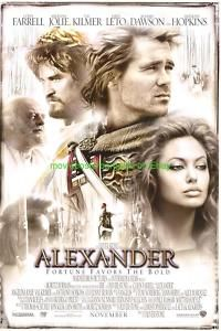 Alexander Movie Poster DS Colin Farrell Angelina Jolie