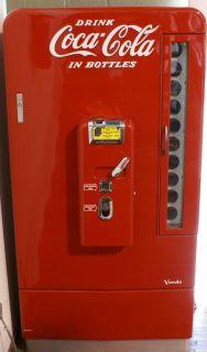 Coke Machine Vintage 1950's Vendo 110