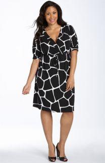 MICHAEL Michael Kors Giraffe Print Dress (Plus)