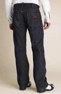 Armani Jeans J25 Low Rise Slim Straight Leg Jeans
