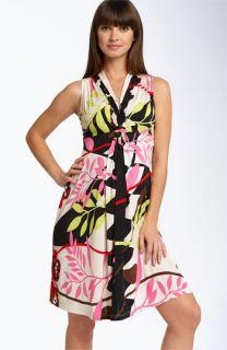 Olian Maternity Alyson Butterfly Print Dress