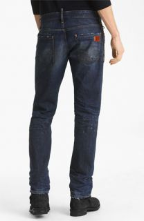 Dsquared2 Slim Fit Jeans (Grease Monkey)