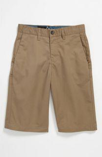 Volcom Friendly Chino Shorts (Big Boys)