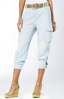 Lauren by Ralph Lauren Gwen Crop Cargo Pants (Petite)