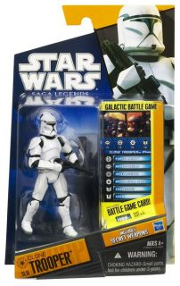 Star Wars Clone Trooper Epii Action Figure SL10 3 75 Inch