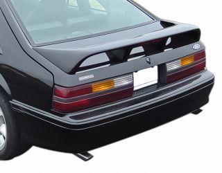 1993 Mustang Cobra Original Metallic Black Chrome Rear Deck Lid Emblem