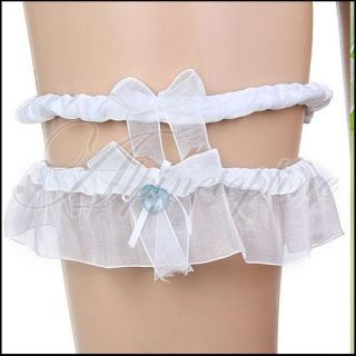 Wedding Bridal Tossing Stockings College Garter Set New