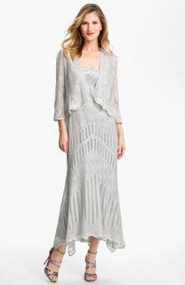 Damianou Multi Strap Crocheted Dress & Jacket