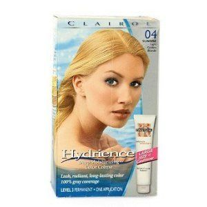 Clairol Hydrience 04 Sunrise Light Golden Blonde