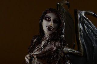 Sexi Vampire Fairy OOAK Doll Sculpture DMA Iadr APS Adsg OAD Prfag